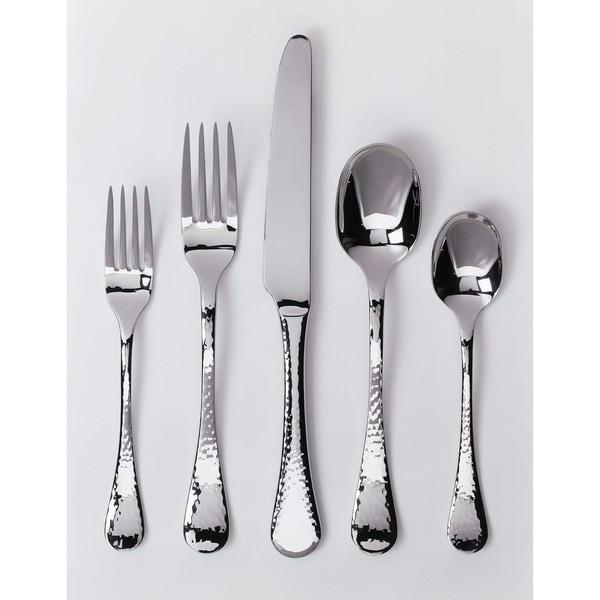 Ginkgo Lafayette 42 Piece Stainless Steel Flatware Set