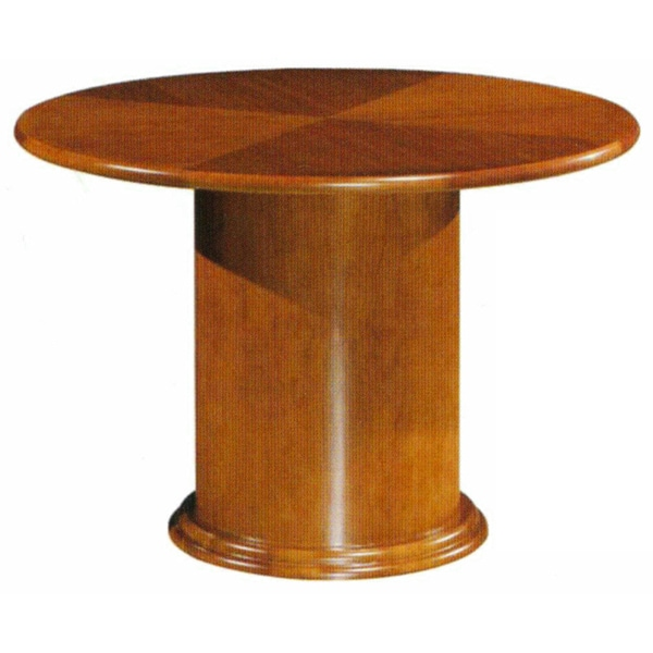 Mayline Diamond Pattern 48-inch Round Conference Table