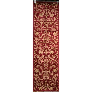 Damask Red Rug (2'3 x 7'7)