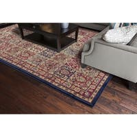 Jewel Pamela Red Polypropylene Rug