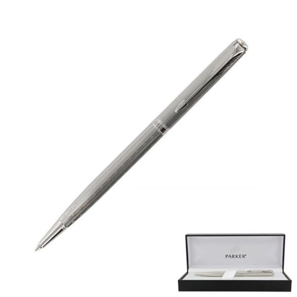 Parker Sonnet Premium Silver Lustre Ballpoint Pen