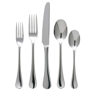 Ginkgo Varberg 42-Piece Stainless Steel Flatware Set