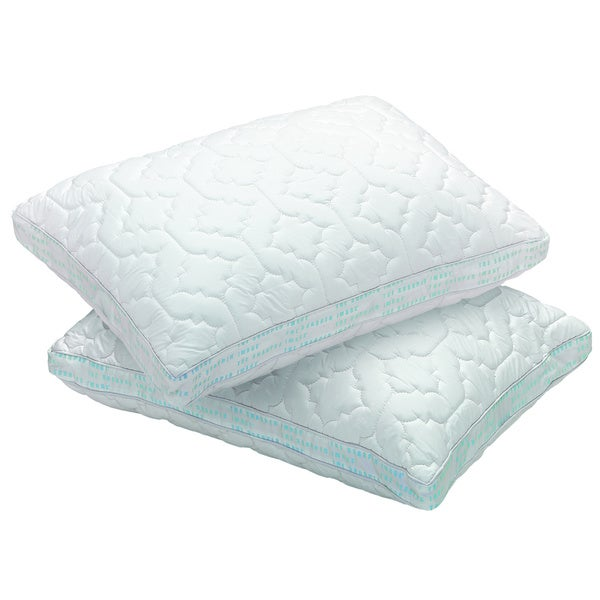 Sharper Image Memory Foam Pillow Protector (Pack of 2)