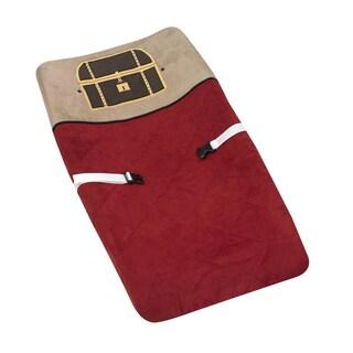 Sweet JoJo Designs Treasure Cove Pirate Changing Pad Cover