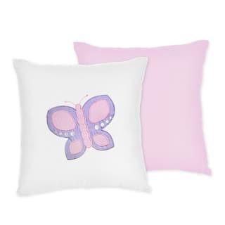 Sweet JoJo Designs Pink Butterfly Throw Pillow https://ak1.ostkcdn.com/images/products/7588469/7588469/Sweet-JoJo-Designs-Pink-Butterfly-Throw-Pillow-P15014351.jpeg?impolicy=medium
