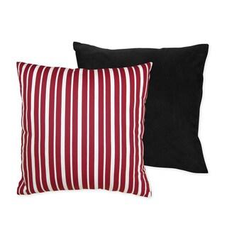 Sweet JoJo Designs Treasure Cove Pirate 16-inch Reversible Decorative Pillow