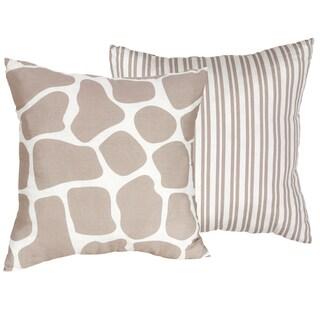 Sweet JoJo Designs Giraffe 16-inch Decorative Throw Pillow