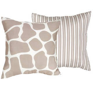 soft decorative pillows. Sweet JoJo Designs Giraffe 16 inch Decorative Throw Pillow Soft Pillows For Less  Overstock com