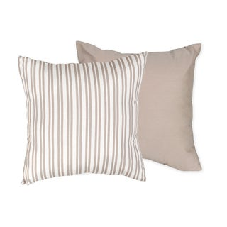 Sweet JoJo Designs Little Lamb 16-inch Reversible Decorative Accent Pillow