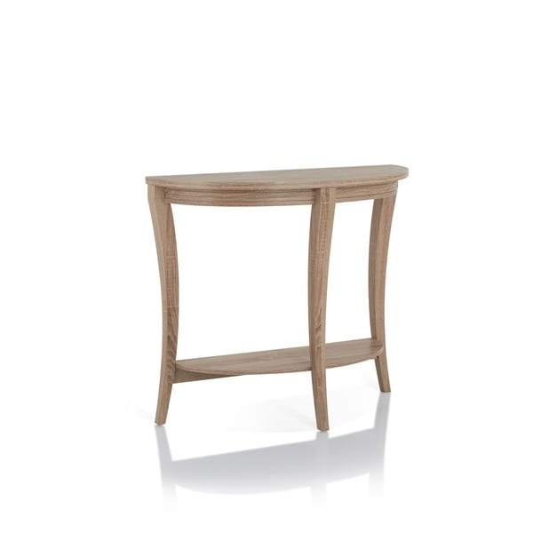 Furniture Of America Renesme Half Moon Sofa Table   Free Shipping Today    Overstock.com   15014360