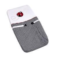 Sweet JoJo Designs Ladybug Polka Dot Changing Pad Cover