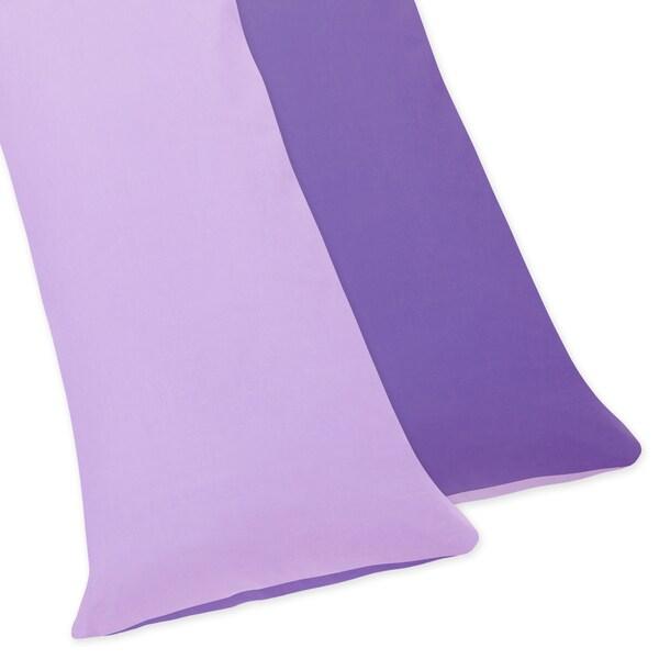 Sweet JoJo Designs Danielle's Daisies Full Length Double Zippered Body Pillow Case Cover