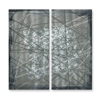 Megan Duncanson 'Modern Design I' Metal Wall Art