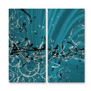 Megan Duncanson 'Modern Design II' Metal Wall Art