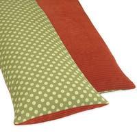 Sweet JoJo Designs Full Length Double Zipper Body Pillow Cover