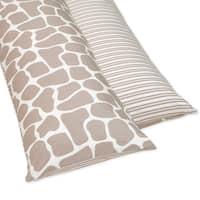 Sweet JoJo Designs Full Length Double Zippered Body Pillow Cover