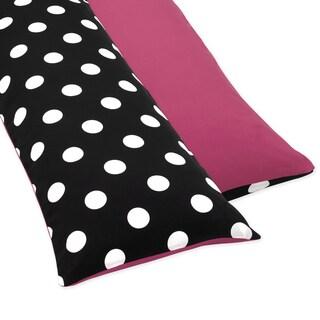 Seet JoJo Designs Hot Dot Full Length Double Zippered Body Pillow Case Cover