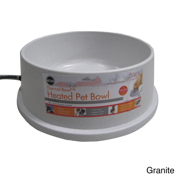 K&H Manufacturing Thermal Heated Water Bowl