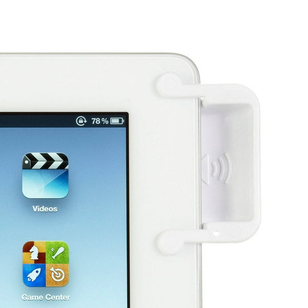 SoundBender 2.0 White Magnetic Sound Amplifier for iPad 2, 3 and 4
