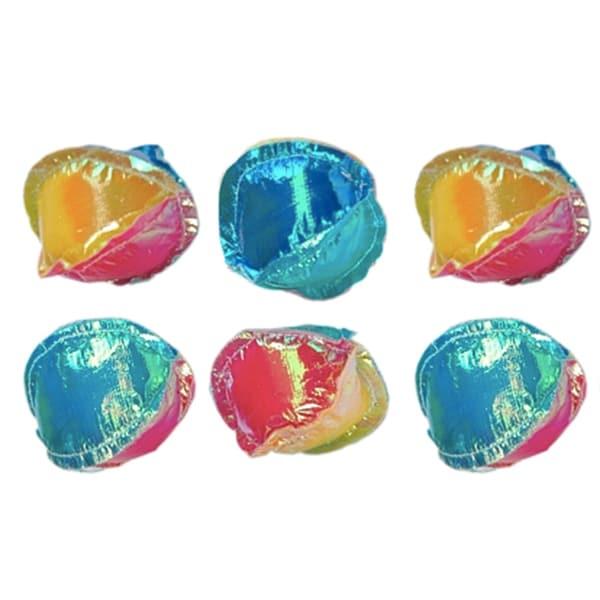 Vo Toys Platinum Crinkle Catnip Balls (Pack of 6)