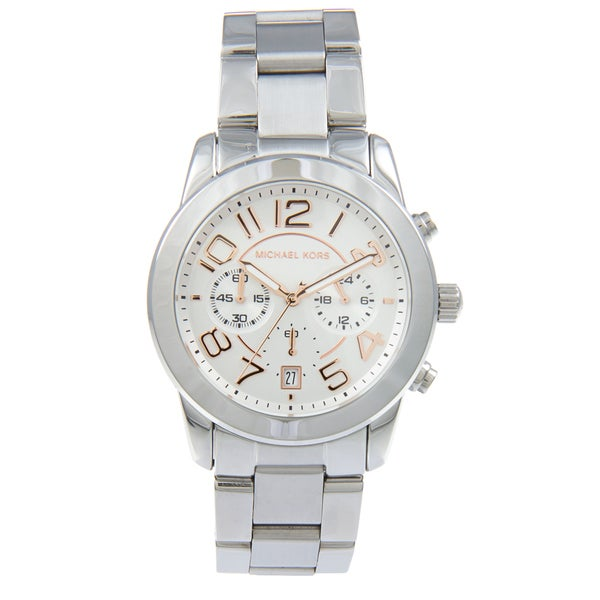 Michael Kors Women's MK5725 Mercer Chronograph Stainless Steel Watch