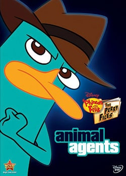 Disney Phineas & Ferb: The Perry Files Animal Agent (DVD)
