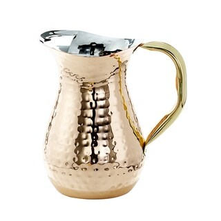 Old Dutch 1 qt. Hammered Water Pitcher
