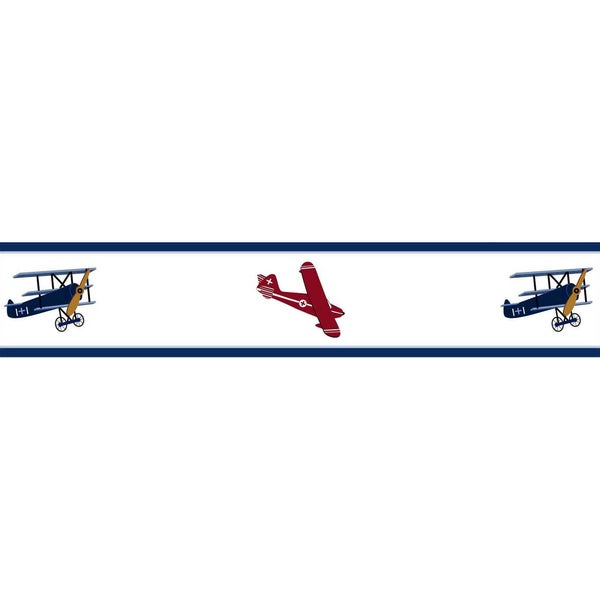 Shop Sweet Jojo Designs Airplanes Vintage Aviator Wall