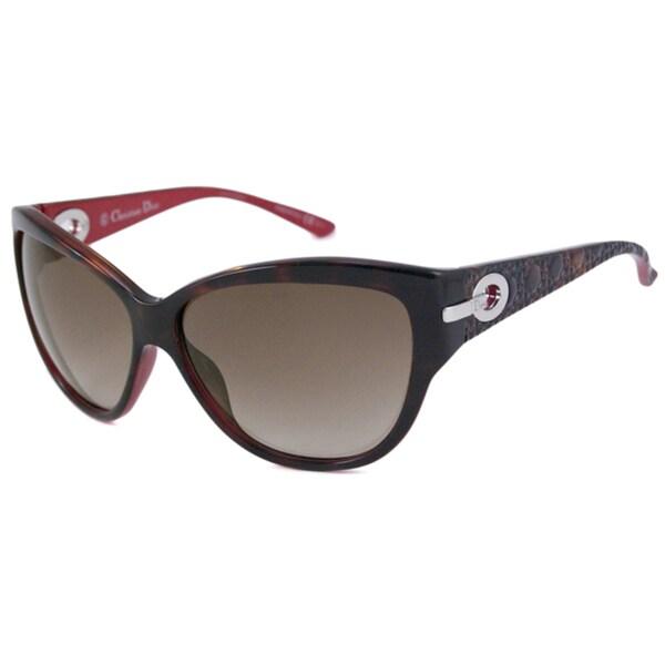 211f7ce6e2e9 Shop Christian Dior Women s My Lady Dior 5 Cat-Eye Sunglasses - Free ...