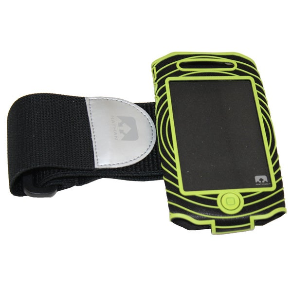 Nathan Sonic Boom Armband For iPhone 4/4S Black/Green