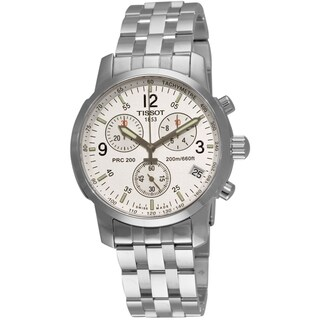 Tissot Men's Steel T-Sport Chronograph Watch