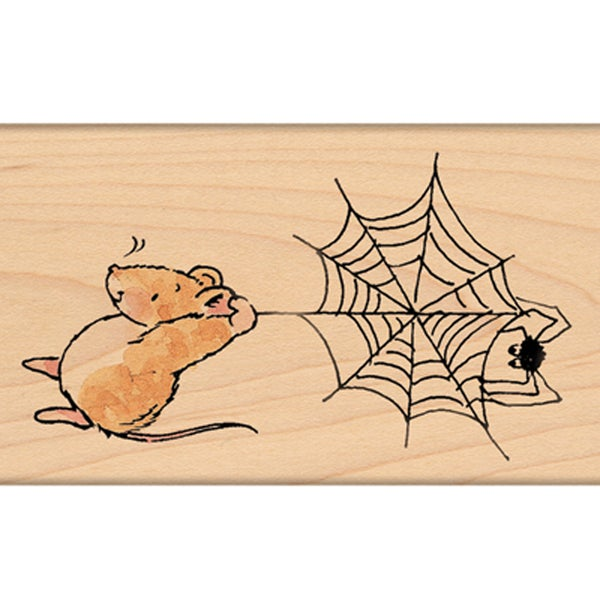 "Penny Black Mounted Rubber Stamp 2""X3.25""-Scare In The Air!"