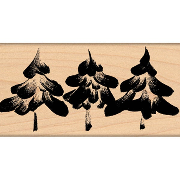 """Penny Black Mounted Rubber Stamp 2.5""""X4.5""""-Snow-Capped"""