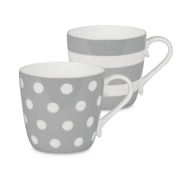 Konitz Mugs Dots and Stripes, Set of 2