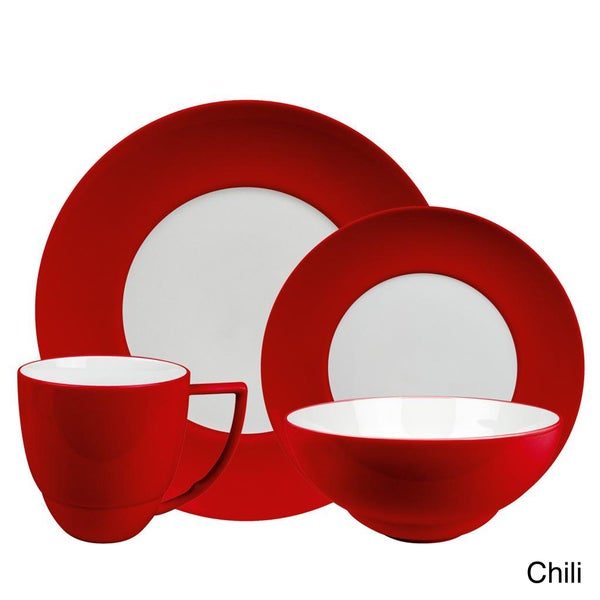 Waechtersbach Uno 16-Piece Dinnerware Set  sc 1 st  Overstock.com & Waechtersbach Uno 16-Piece Dinnerware Set - Free Shipping Today ...