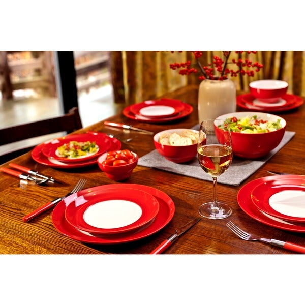 Waechtersbach Uno Dinner Plates Set of 4  sc 1 st  Overstock.com & Waechtersbach Uno Dinner Plates Set of 4 - Free Shipping On Orders ...