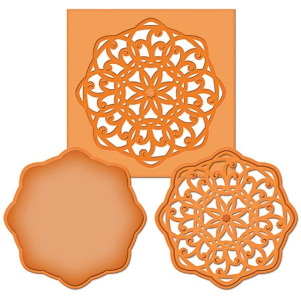 Spellbinders Die D-Lites-Medallion 5