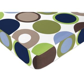Sweet JoJo Designs Dot Fitted Crib Sheet