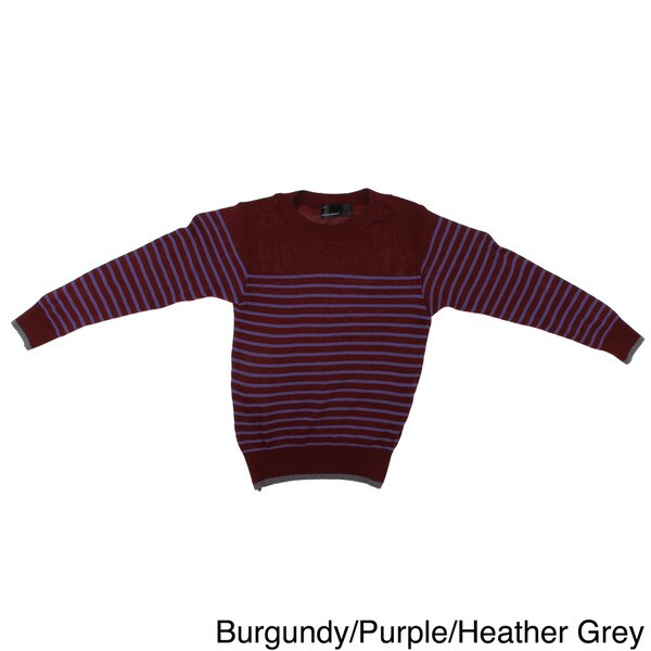 American Apparel Toddler Knit Stripe Crew Neck Sweater
