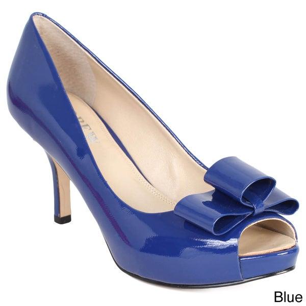 Andrew Stevens Women's 'Carolina' Peep Toe Heels