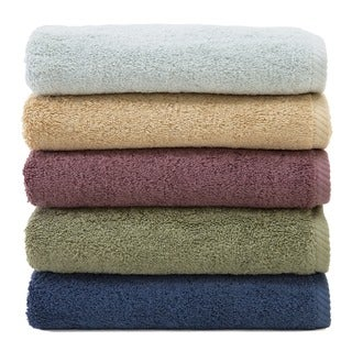 Authentic Hotel and Spa Plush Soft Twist Turkish Cotton 4-piece Towel Set with Bath Sheet