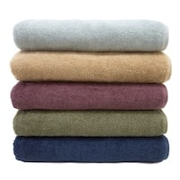 Authentic Hotel and Spa Soft Twist Turkish Cotton Bath Sheet