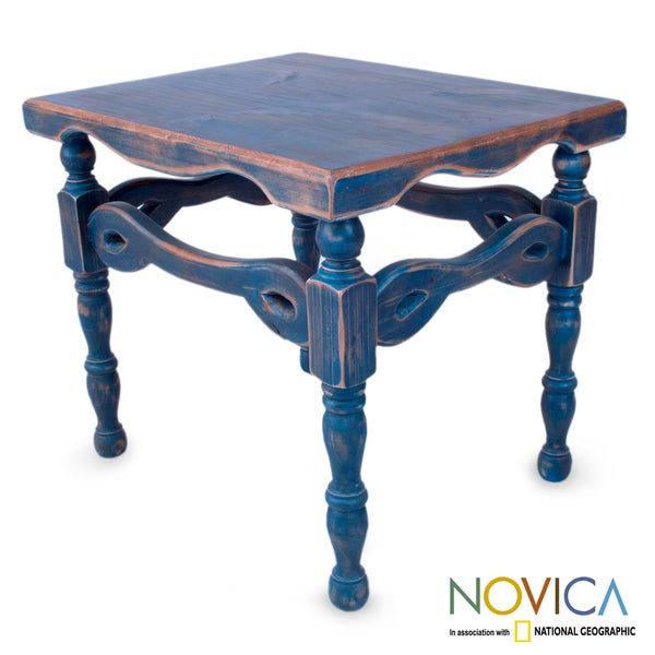 Handmade Pinewood X27 Hidalgo Royal Blue