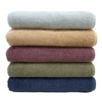 Authentic Hotel and Spa Plush Soft Twist Turkish Cotton Washcloth (Set of 6)