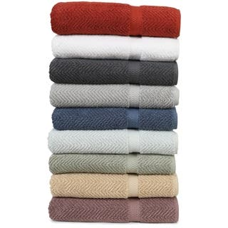 Authentic Hotel and Spa Herringbone Weave Turkish Cotton 3-piece Towel Set|https://ak1.ostkcdn.com/images/products/7594935/P15020011.jpg?impolicy=medium
