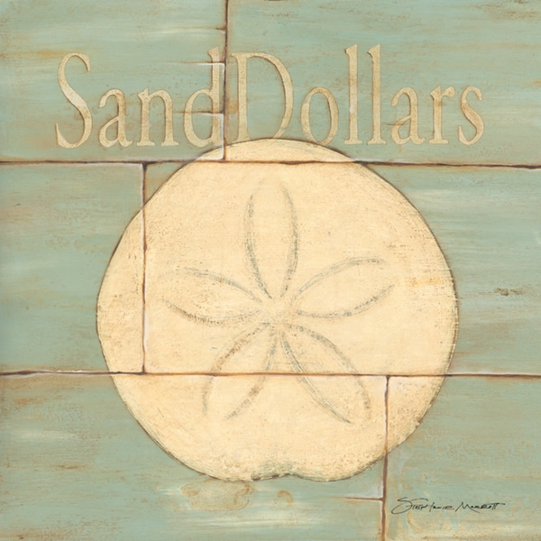 Stephanie Marrott 'Sand Dollar' Unframed Print Art