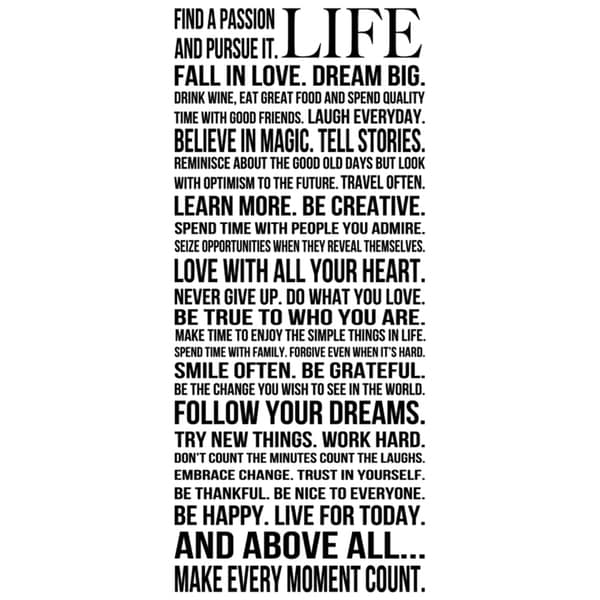 This Is Your Life  Paper Print (Unframed)