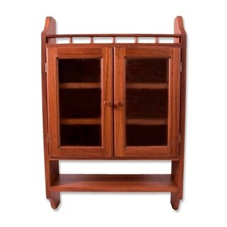 "Parota Wood 'Hacienda' Cabinet (Mexico) - 23.5""x36"""