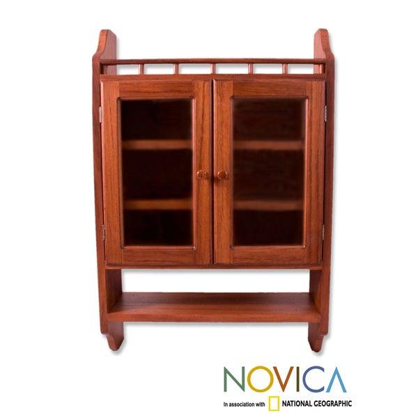 Parota Wood 'Hacienda' Cabinet (Mexico)