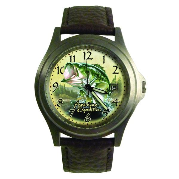 American Expedition Largemouth Bass Wrist Watch